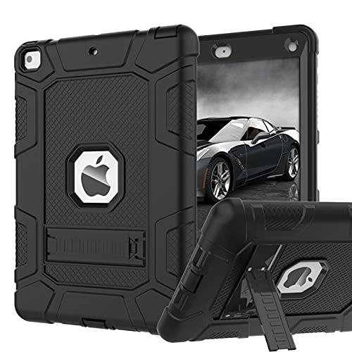 iPad Mini 5 Case, iPad Mini 4 Case, Hybrid Three Layer Armor Shockproof Rugged Drop Protection Cover Case Built with Kickstandfor iPad Mini 4   5 7.9 Inch