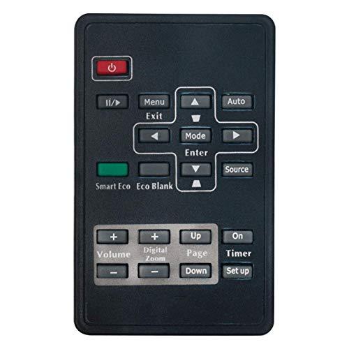 VINABTY Mando a Distancia 5F.26J1K.271 para BenQ el proyector ms502 mx703 mx660 ms510 mp511+ mp523 mp515 MP515ST mp525 mp526 mx662