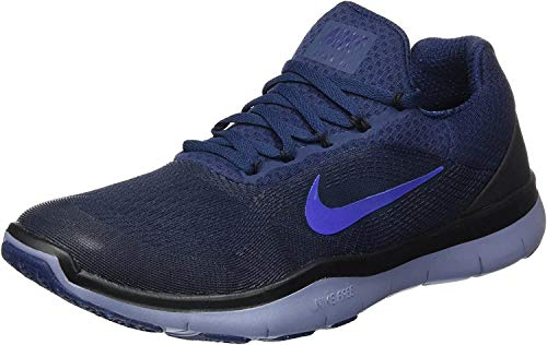 Nike Herren Free Trainer V7 Hallenschuhe, Blau (Bleumarinecollège/bleucielfoncé/Noir/bleuroyalprofond), 41 EU