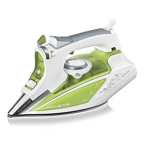 Rowenta–DW9210–Bügeleisen, 2600Watt, grün/weiß