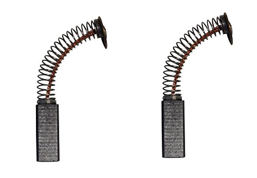 2x Carbon Brushes - Use on Rowenta-Kenwood Mixer (Size - 5.5 X 7.2 X 19.5)