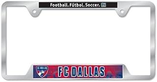 Wincraft Soccer Metal License Plate Frame