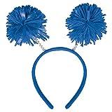 Amscan Pom Yarn Spings Head Bopper, 9' x 4 1/2', Blue