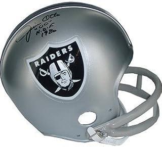 Jim Otto Autographed Signed Oakland Raiders TB 2bar Mini Helmet HOF 1980