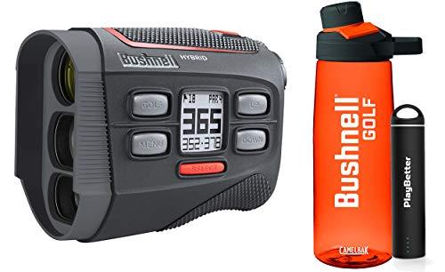 Best Prices! Bushnell Hybrid Golf Laser/GPS Rangefinder Premium Bushnell Golf Gift Box | +Premium Wa...