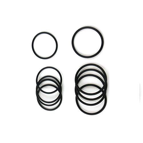 WNJ-TOOL, 10pcs 4mm Dicke O-Ring-Dichtung NBR 180/185/190/195/200/205/210/215 / 220mm OD Nitrilkautschuk O-Ringe Dichtungen Dichtungen Washer (Größe : 195x187x4mm)