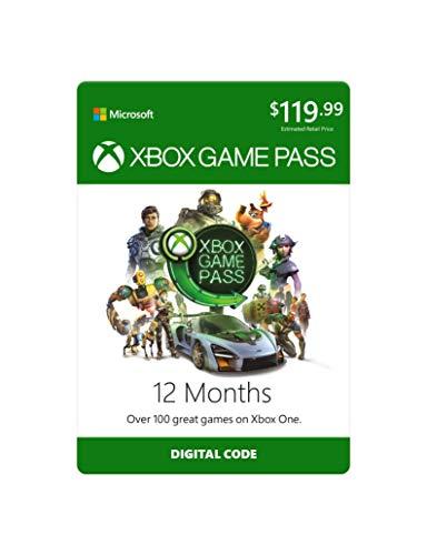Xbox Game Pass: 12 Month Membership [Digital Code]