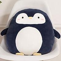 HIL 漫画の動物の枕動物の背もたれ漫画のクッションかわいい恐竜の枕ぬいぐるみ子供のおもちゃぬいぐるみ子供へのギフトクリエイティブギフトバレンタインデープレゼント,Penguin