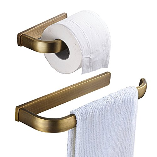 Top 10 best selling list for soft brass towel ring and toilet paper holder