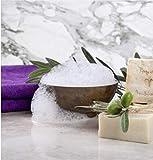 BIO Olivenölseife- d'moRe Olivenölseife – 100% Naturprodukt – Reine Olivenölseife – Für Haar, Gesicht, Hände und Körper. Vegan, Geruchlos, Kaltgepresst, Handgemach - 9