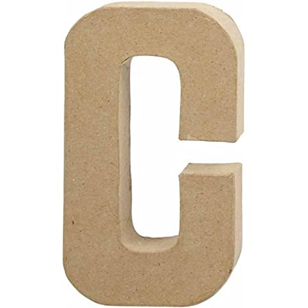 Creativ Lettre, grande, h: 20,5 cm, C, 1 piè ce