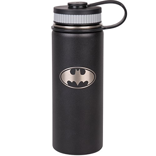 Steel insulated Batman water bottle