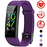 Mgaolo Fitness Tracker with Blood Pressure Heart Rate Sleep Monitor,10 Sport Modes IP68 Waterproof...