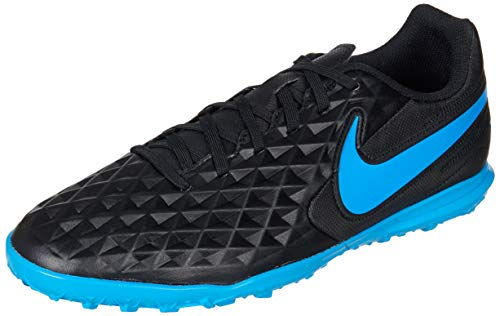 Nike Tiempo Legend 8 Club Tf, Scarpe da Calcio Uomo, Multicolore (Black/Blue Hero 4), 40 EU