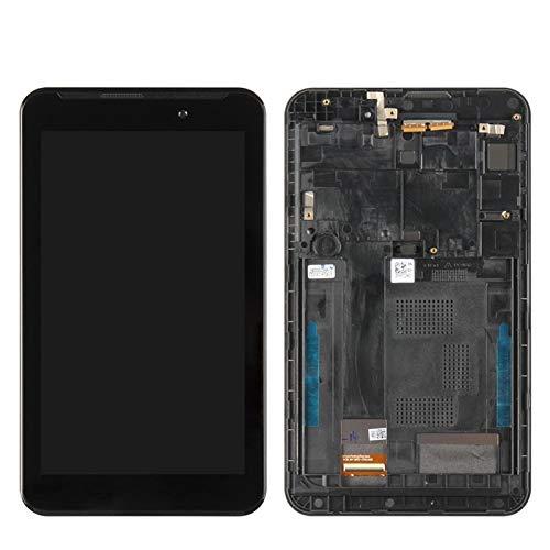 Kit de reemplazo de pantalla Ajuste para Asus FONEPAD FE7010CG FE170CG ME170 K012 K017 Pantalla LCD Montaje digitalizador de pantalla táctil con marco negro kit de reparación de pantalla de repuesto