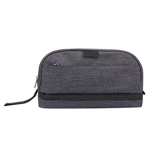 Sac de cosmétique de Stockage Portable Grande capacité Voyage Multifonction Portable Simple Wash Universal 3 Couleurs 26 * 14 * 12 cm MUMUJIN (Color : Gray)