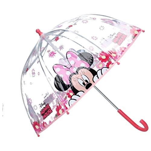 Disney Minnie Mouse Kinder Regenschirm Stock-Schirm Kuppelschirm