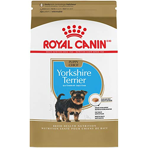 Royal Canin Yorkshire Terrier Puppy Breed Specific Dry Dog Food, 2.5 Pounds. Bag