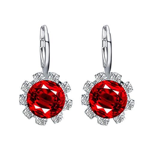 Godathe 1 Pair Wing Shape Alloy Ear Stud Imitation Diamond Earrings Jewelry Pearl Garland Earrings Crystal Classic