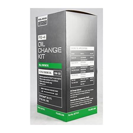 Amazon Com Polaris Ps 4 Oil Filter Change Kit Sportsman Atv Ranger 330 400 500 550 850 Automotive