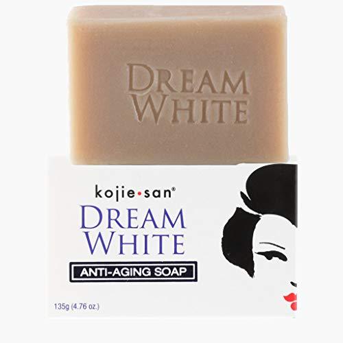 1 x 135G Kojie San éclaircissant la peau savon à l'acide kojique dans un emballage de trading de pointe sans frustration