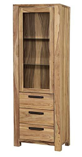 Main Möbel Vitrine 66x200cm \'Jenko\' Sheesham