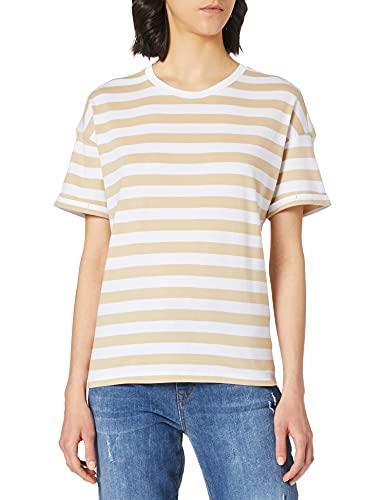 Esprit 021EE1K343 Camiseta, 285/arena, L para Mujer