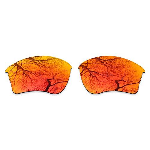ToughAsNails Reemplazo de lente polarizada para Oakley Half Jacket XLJ Sunglass - Más opciones, Naranja Fuego, Talla única