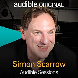 Simon Scarrow audiobook cover art