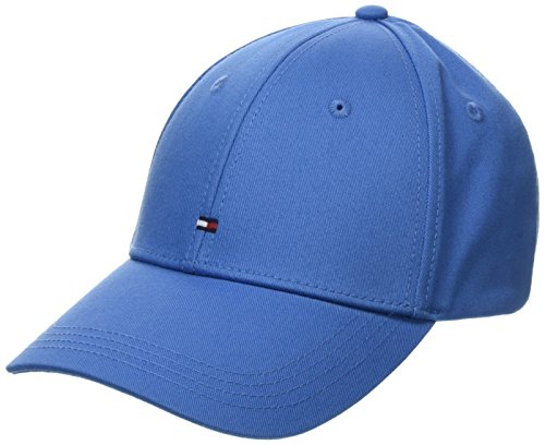 Tommy Hilfiger Classic BB Cap Casquette De Baseball, Bleu (Regatta 487), Unique (Taille Fabricant: OS) Homme