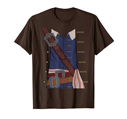 Disney Pirates of the Caribbean Captain Jack Sparrow Costume T-Shirt