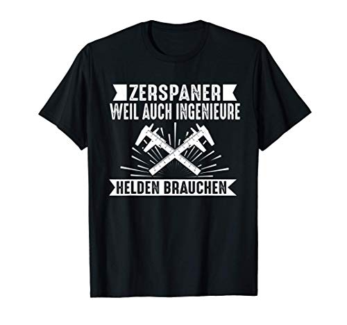 Herren Zerspaner Zerspanungsmechaniker Dreher Fräser T-Shirt