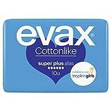 Evax Cottonlike Super Plus Compresas con Alas - 10 unidades - [pack de 4]