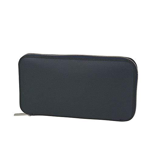 [ヴァレクストラ] VALEXTRA 長財布 ラウンドジップ 12カード V9L06 28 BLU [並行輸入品]