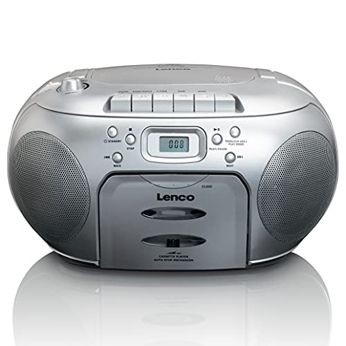 Lenco SCD-420SI Color Plata R.CD MP3 portátil