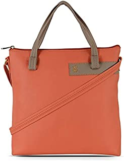 Baggit Women's Synthetic Tote Bag (Pink)