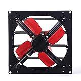 LANDUA Extractor - Persianas Extractor de Aire Industrial Extintor Extintor ventilación de Cocina (Size : 12 Inches)