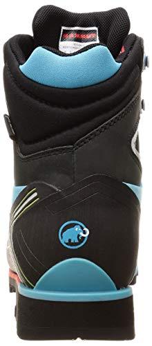 Mammut Kento High GTX, Chaussures de Randonnée Hautes Femme, Bleu (Arctic-Black 5927), 38 2/3 EU