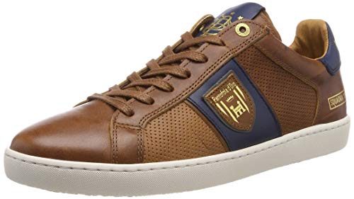 Pantofola d'Oro Herren Sorrento Uomo Low Sneaker, Braun (Tortoise Shell .JCU), 43 EU