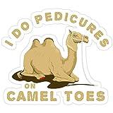 Vijk kor I Do Pedicures On Camel Toes Stickers (3 Pcs/Pack)