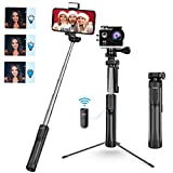 Mpow Bastone Selfie, All in 1 Portatile Estensibile Selfie Stick Treppiede con Bluetooth R...