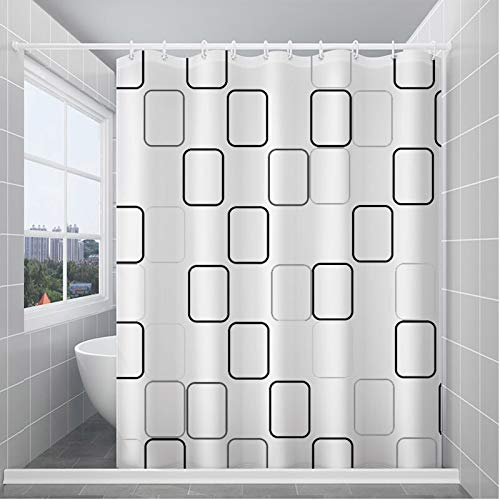 zagtag Shower Curtain Liner 72x72 - PEVA Vinyl 8 Gauge Light Weight, Waterproof, 12 Rustproof Grommets Holes