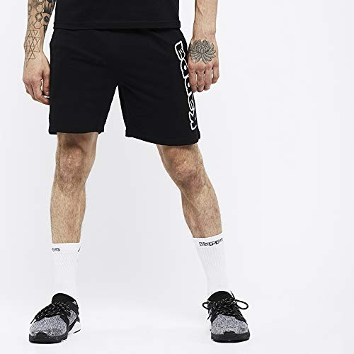 Kappa 3032JB0_902_XS - Pantalón corto ROBERTO, talla negro, XS