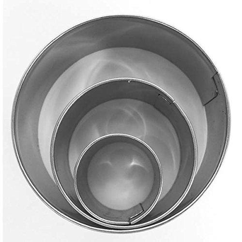 MTD 3 Mini Emporte-pièces en Acier Inoxydable Cercle