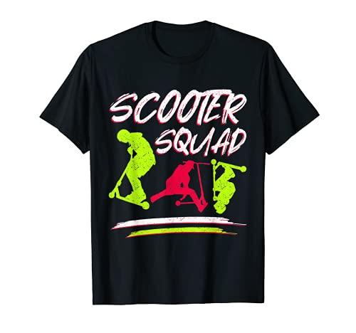 Scooter Squad para Stunt Scooter Stunt Camiseta