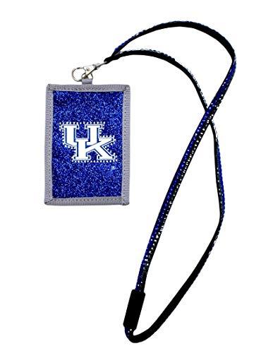 NCAA Kentucky Wildcats Beaded Lanyard with Nylon Wallet