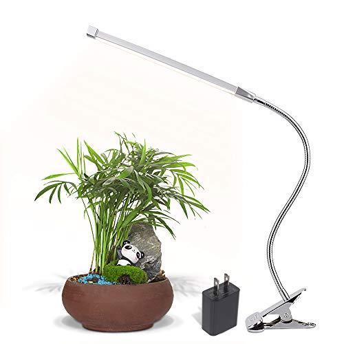 ledクリップライトAC電源アダプタ付属 3年保証 三段階調色 明るさも十段階調節 USB式 アームライト ledライト 読書 デスクスタンド スタンド 蛍光灯
