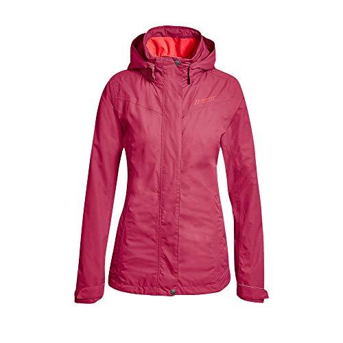 Maier Sports W Metor Rot, Regenjacke, Größe 38 - Farbe Persian Red