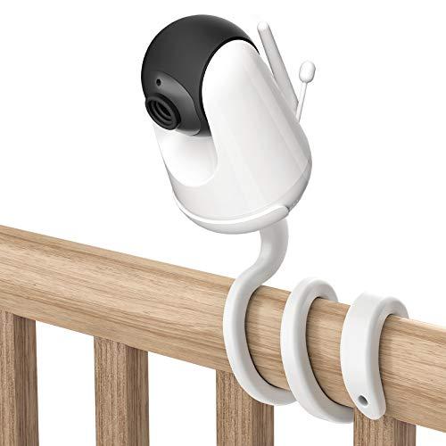 HOLACA Universal Halterung für VAVA Babyphone - Vielseitige Halterung für VAVA Babyphone, 720P 5 HD Display Video Baby Monitor Twist Halter ohne Werkzeug oder Wandschäden