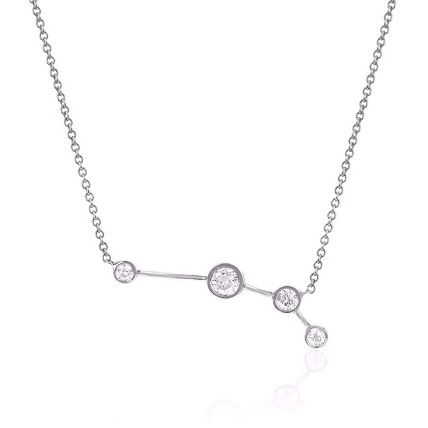 espere Sterling Silver Zodiac Necklace Constellation Jewelry Birthday Gift Sorority Sister Gift